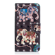 preiswerte Handyhüllen-Hülle Für Xiaomi Redmi Note 5 Pro / Xiaomi Redmi Note 6 Geldbeutel / Kreditkartenfächer / mit Halterung Ganzkörper-Gehäuse Elefant Hart PU-Leder für Redmi Note 5A / Xiaomi Redmi Note 5 Pro / Xiaomi