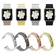 cheap -Smartwatch Band for Apple Watch Series 4/3/2/1 Apple Butterfly Buckle Stainless Steel Fashion Wrist Strap