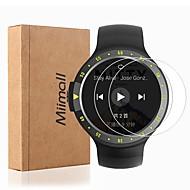 Недорогие Защитные пленки для смарт-часов-Защитная плёнка для экрана Назначение Ticwatch E / Ticwatch S Закаленное стекло HD / Уровень защиты 9H / 2.5D закругленные углы 2 штs