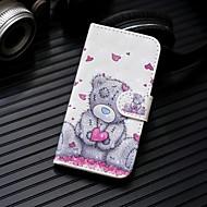 Недорогие Чехлы и кейсы для Galaxy S7 Edge-Кейс для Назначение SSamsung Galaxy S9 Plus / S9 Кошелек / Бумажник для карт / со стендом Чехол Панда Твердый Кожа PU для S9 / S9 Plus / S8 Plus