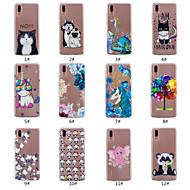 preiswerte Handyhüllen-Hülle Für Huawei P20 Pro / P20 lite Geprägt / Muster Rückseite Tier / Baum / Blume Weich TPU für Huawei P20 / Huawei P20 Pro / Huawei P20 lite