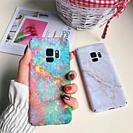 Недорогие Чехлы и кейсы для Galaxy S8-Кейс для Назначение SSamsung Galaxy S9 Plus / S8 Plus С узором Кейс на заднюю панель Мрамор Твердый ПК для S9 / S9 Plus / S8 Plus