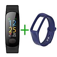 billige -Smart Armbånd B18Plus for Android iOS Bluetooth Sport Vandtæt Pulsmåler Blodtryksmåling Touch-skærm Skridtæller Samtalepåmindelse Aktivitetstracker Sleeptracker