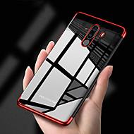 お買い得  携帯電話ケース-ケース 用途 Xiaomi Xiaomi Pocophone F1 / Mi 8 メッキ仕上げ / クリア バックカバー ソリッド ソフト TPU のために Xiaomi Pocophone F1 / Xiaomi Mi 8 / Xiaomi Mi 8 SE