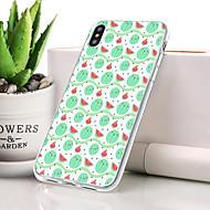 abordables 10% de DESCUENTO y Más-Funda Para Apple iPhone XR Antipolvo / Ultrafina / Diseños Funda Trasera Fruta Suave TPU para iPhone XR