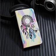 abordables Coques pour iPhone 8 Plus-Coque Pour Apple iPhone XR / iPhone XS Max Portefeuille / Porte Carte / Avec Support Coque Intégrale Attrapeur de rêves Dur faux cuir pour iPhone XS / iPhone XR / iPhone XS Max