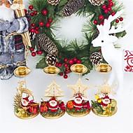 abordables -Décorations de vacances Décorations de Noël Décorations de Noël Décorative Beige / Jaune / Jaune Clair 1pc