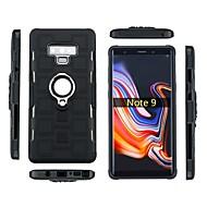 Недорогие Чехлы и кейсы для Galaxy Note 8-Кейс для Назначение SSamsung Galaxy Note 9 / Note 8 Защита от удара / Кольца-держатели Кейс на заднюю панель броня Мягкий ТПУ для Note 9 / Note 8