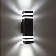 abordables Focos LED-1pc 8 W Focos LED Impermeable Blanco Cálido / Blanco Fresco 85-265 V Iluminación Exterior / Patio / Jardín 8 Cuentas LED