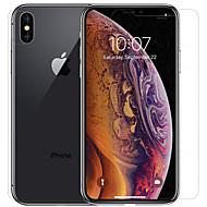 Недорогие Защитные плёнки для экрана iPhone-Nillkin Защитная плёнка для экрана для Apple iPhone XS Max PET 1 ед. Протектор объектива спереди и камеры HD / Бриллиантовый блеск / Зеркальная поверхность