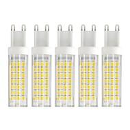 お買い得  LED コーン型電球-5個 6 W 750 lm G9 LEDコーン型電球 T 88 LEDビーズ SMD 2835 温白色 / クールホワイト 85-265 V