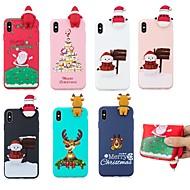 abordables 10% de DESCUENTO y Más-Funda Para Apple iPhone XS / iPhone XS Max Diseños Funda Trasera Navidad Suave TPU para iPhone XS / iPhone XR / iPhone XS Max