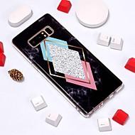 Недорогие Чехлы и кейсы для Galaxy Note-Кейс для Назначение SSamsung Galaxy Note 9 / Note 8 С узором Кейс на заднюю панель Мрамор Мягкий ТПУ для Note 9 / Note 8