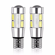 cheap -2pcs T10 Motorcycle / Car Light Bulbs 5 W SMD 5630 480 lm 10 LED Turn Signal Light For General Motors Universal