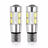 abordables Intermitentes para Coche-2pcs T10 Motocicleta / Coche Bombillas 5 W SMD 5630 480 lm 10 LED Luz de Intermitente Para Motores generales Universal