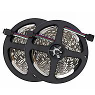 abordables -SENCART 10m Bandes Lumineuses LED Flexibles 300/150 LED SMD5050 RVB Découpable / Décorative / Connectible 12 V 1 set