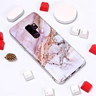 Недорогие Чехлы и кейсы для Galaxy S9 Plus-Кейс для Назначение SSamsung Galaxy S9 Plus / S8 С узором Кейс на заднюю панель Мрамор Мягкий ТПУ для S9 / S9 Plus / S8 Plus