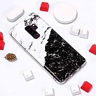 Недорогие Чехлы и кейсы для Galaxy S8-Кейс для Назначение SSamsung Galaxy S9 Plus / S8 С узором Кейс на заднюю панель Мрамор Мягкий ТПУ для S9 / S9 Plus / S8 Plus