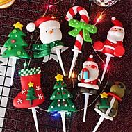 abordables -Décorations de vacances Décorations de Noël Décorations de Noël Décorative Multi-couleurs 1pc