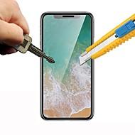 Недорогие Защитные плёнки для экрана iPhone-Защитная плёнка для экрана для Apple iPhone XS / iPhone X Закаленное стекло 1 ед. Защитная пленка для экрана HD / Уровень защиты 9H / 2.5D закругленные углы