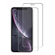 Недорогие Защитные плёнки для экрана iPhone-Защитная плёнка для экрана для Apple iPhone XR Закаленное стекло 1 ед. Защитная пленка для экрана HD / Уровень защиты 9H / 2.5D закругленные углы