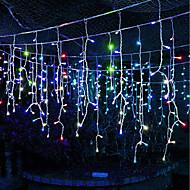 abordables Tiras de Luces LED-Brelong Christmas 600led cortina cadena ligera us 110v 1 pc
