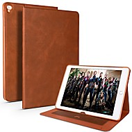 Cooho ケース 用途 Apple iPad Pro 10.5 / iPad Pro 9.7 カードホルダー / 耐衝撃 / 耐水 フルボディーケース ソリッド ソフト PUレザー / TPU のために iPad Air / iPad 4/3/2 / iPad Mini 3/2/1