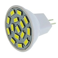 billiga -SENCART 1st 1.5 W LED-spotlights 450-500 lm G4 MR11 15 LED-pärlor SMD 5730 Varmvit Kallvit 24 V
