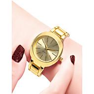 billige -Dame Armbåndsur Quartz 30 m Vandafvisende Afslappet Ur Rustfrit stål Bånd Analog Afslappet Mode Guld - Guld Hvid Sort