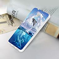 お買い得  携帯電話ケース-ケース 用途 ZTE ZTE Blade A510 超薄型 / パターン バックカバー 動物 ソフト TPU のために ZTE Blade A510