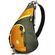 お買い得  -Jungle King 12 L ストラップ付きポーチ - 通気性, 耐久性 アウトドア ハイキング ナイロン イエロー, グリーン, ブルー