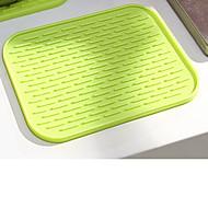 abordables Salvamanteles-1pc Herramientas de cocina El plastico Termoaislante Titular de la olla y Guante de cocina Para utensilios de cocina