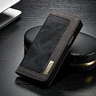 Недорогие Чехлы и кейсы для Galaxy S-CaseMe Кейс для Назначение SSamsung Galaxy S9 Plus Кошелек / Бумажник для карт / со стендом Чехол Однотонный Твердый текстильный для S9 Plus