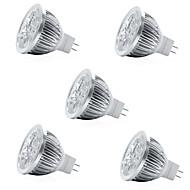 お買い得  -5個4 w 400 lm mr16 ledスポットライト4 ledビーズハイパワーled装飾冷たい白/暖かい白12 v
