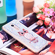 preiswerte Handyhüllen-Hülle Für Xiaomi Redmi 5 Stoßresistent / Glänzender Schein Rückseite Eule / Glänzender Schein Weich TPU für Xiaomi Redmi 5