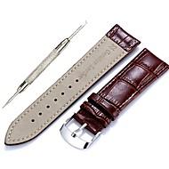 Недорогие Аксессуары для смарт-часов-Ремешок для часов для Gear S3 Frontier / Gear S3 Classic Samsung Galaxy Классическая застежка / Инструменты сделай-сам Кожа Повязка на запястье