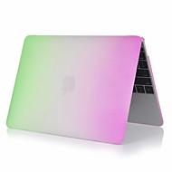 """お買い得  MacBook 用ケース/バッグ/スリーブ-MacBook ケース カラーグラデーション PVC のために MacBook Pro 13インチ / 新MacBook Pro 13"""" / New MacBook Air 13"""" 2018"""