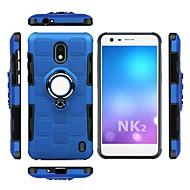 preiswerte Handyhüllen-Hülle Für Nokia Nokia 8 Stoßresistent / Ring - Haltevorrichtung Rückseite Rüstung Weich TPU für Nokia 8 / Nokia 2