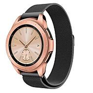 Недорогие Аксессуары для смарт-часов-Ремешок для часов для Samsung Galaxy Watch 42 Samsung Galaxy Спортивный ремешок Нержавеющая сталь Повязка на запястье