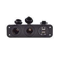 Недорогие Автомобильные зарядные устройства-CIG 2 USB порта Только зарядное устройство DC 5V/2,1A