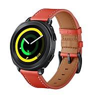 Недорогие Аксессуары для смарт-часов-Ремешок для часов для Gear Sport / Gear S2 / Gear S2 Classic Samsung Galaxy Спортивный ремешок / Классическая застежка Натуральная кожа Повязка на запястье