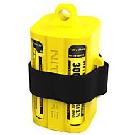お買い得  -電槽 / トランクオーガナイザー 多機能, 耐衝撃性, 軽くて便利な のために キャンピング&ハイキング / キャンプ / ハイキング / ケイビング / 旅行 - シリコン 1 pcs Nitecore