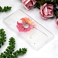 preiswerte Handyhüllen-Hülle Für Sony Xperia XZ2 Compact / Xperia XZ2 Transparent / Muster Rückseite Blume Weich TPU für Xperia XZ2 / Sony Xperia XZ3 / Xperia XZ2 Compact