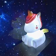 abordables Lámparas LED Novedosas-La luz de la noche novedad llevó la lámpara unicornio linda decoraciones luz nocturna regalos navidad vacaciones cumpleaños dormitorio decoración