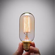 tanie -GMY® 1 szt. 40 W E26 / E27 T45 Bursztynowy 2200 k Retro / Przygaszanie / Dekoracyjna Żarówka Edisona w stylu vintage 220-240 V