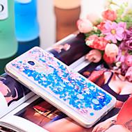 お買い得  携帯電話ケース-ケース 用途 Xiaomi Redmi Note 4 耐衝撃 / キラキラ仕上げ バックカバー キラキラ仕上げ / フラワー ソフト TPU のために Xiaomi Redmi Note 4