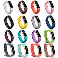 Недорогие Аксессуары для смарт-часов-Ремешок для часов для Fitbit Alta HR / Fitbit Ace / Fitbit Alta Fitbit Спортивный ремешок силиконовый Повязка на запястье
