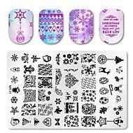 billige -3 pcs decals Multifunktionel / Bedste kvalitet Kreativ Negle kunst Manicure Pedicure Jul / Daglig Mode