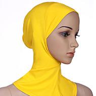 Недорогие Шарфы и шали-Жен. Классический Хиджаб - Сетка Однотонный