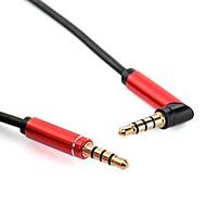 baratos -YONGWEI 3,5 milímetros de áudio Jack Cabo, 3,5 milímetros de áudio Jack para 3,5 milímetros de áudio Jack Cabo Macho-Macho Cobre banhado a ouro 1.0m (3 pés)